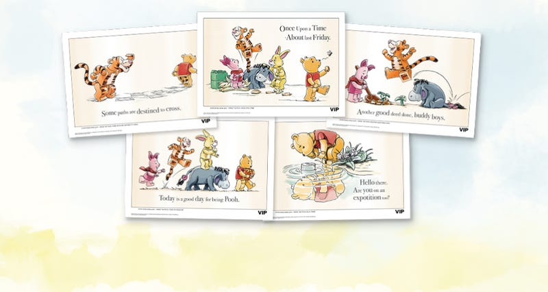 LEGO VIP Winnie the Pooh Art Prints