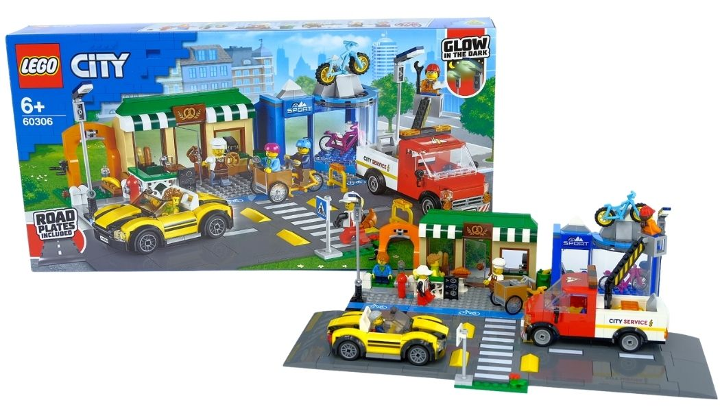 [Review] LEGO City 60306 Shopping Street