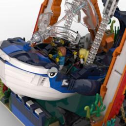 LEGO Ideas Sea King Swing Ride