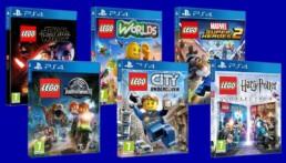 Tot 30% korting op LEGO PS4 games