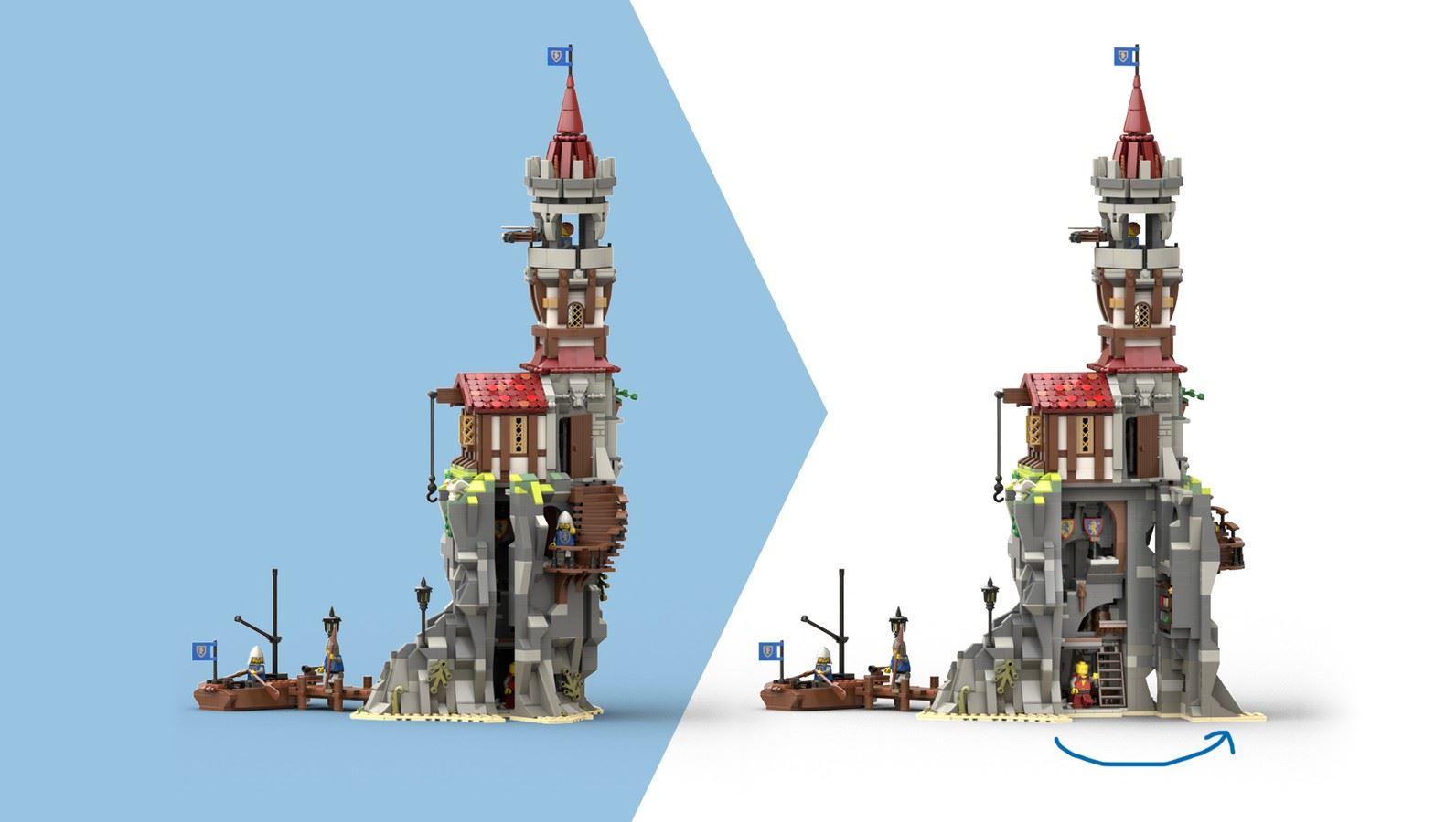 [Uitgelicht] LEGO Ideas King's Knight's Prison Island