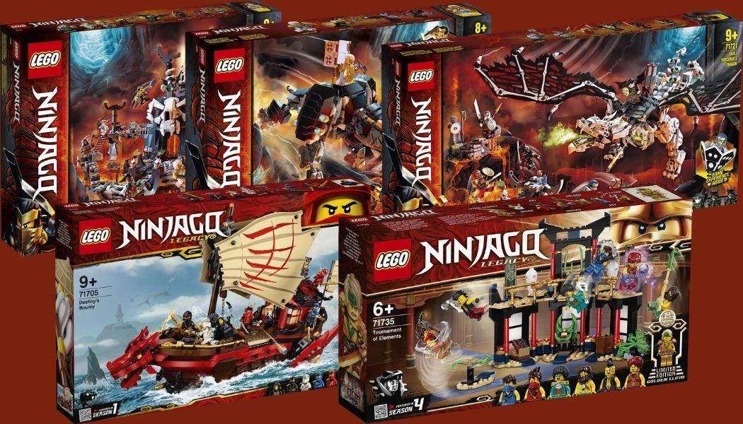 25% korting op LEGO Ninjago