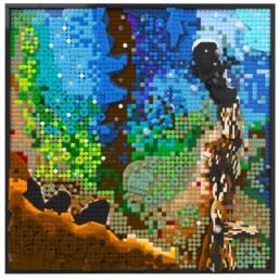 LEGO Pillars of Creation