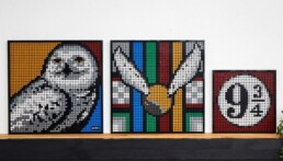 Alternatieve bouwinstructies LEGO Art 31201 Hogwarts Crests