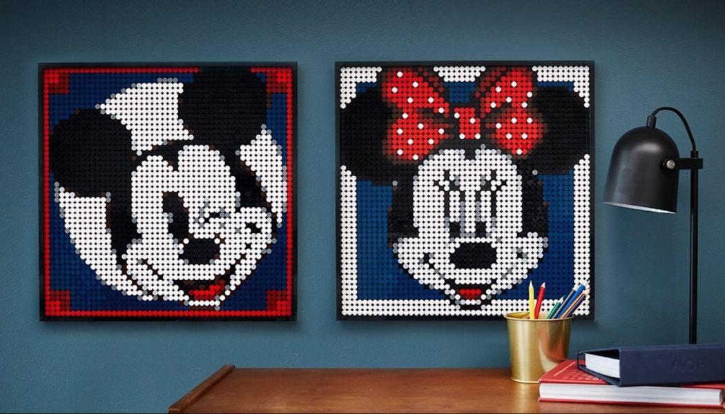 Alternatieve bouwinstructies LEGO Art 31202 Mickey & Minnie Mouse