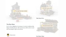 [Bricklink Designer Program] Projecten Robert Bontenbal gecanceld
