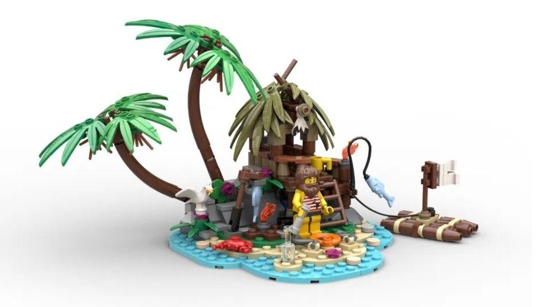 Design een LEGO Seaside GWP