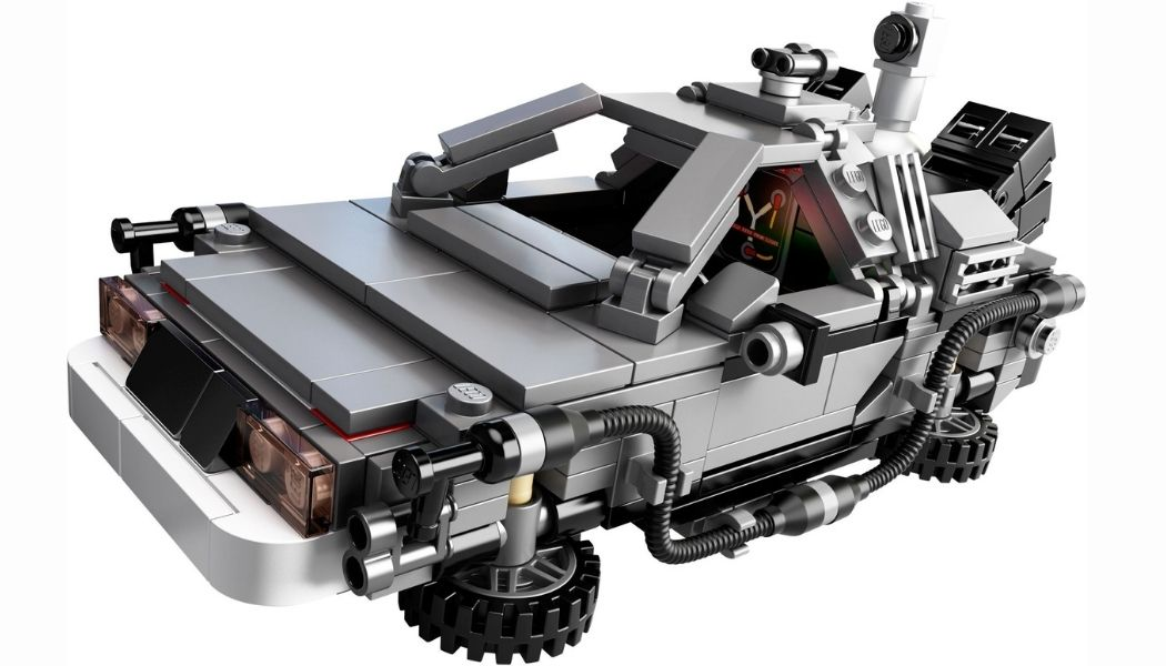 LEGO 10290 DeLorian BTTF