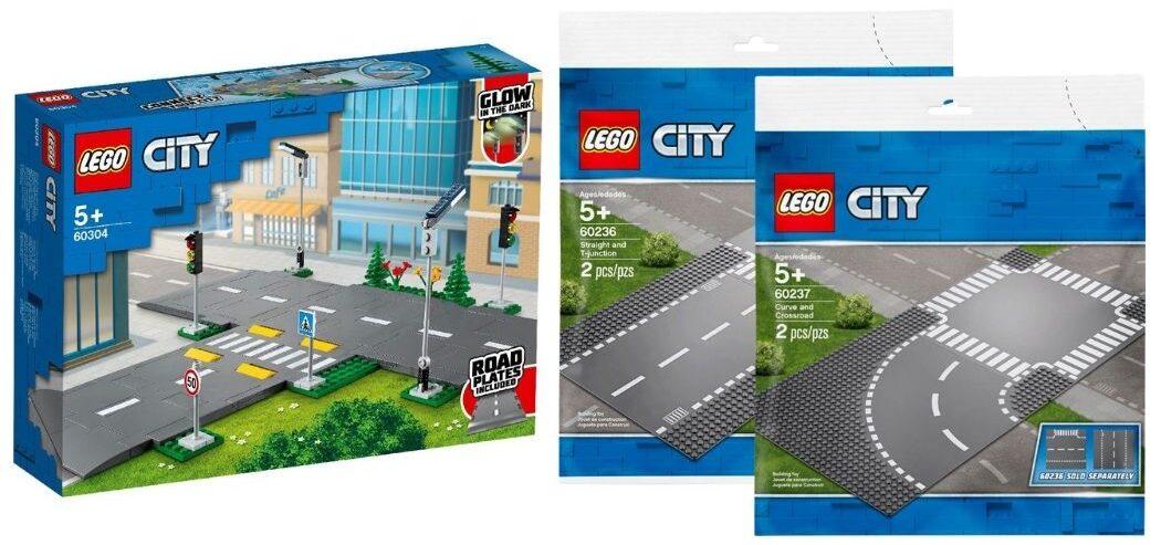 LEGO Baseplates VS Road Plates