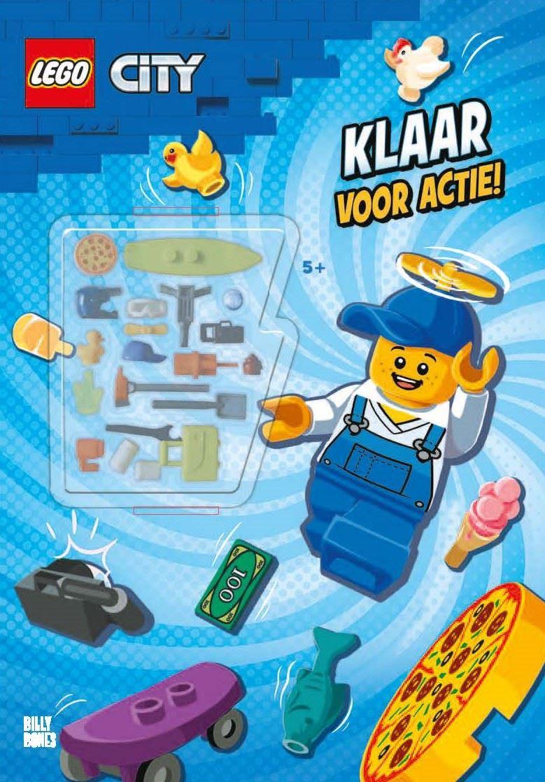 LEGO City Klaar voor actie boek