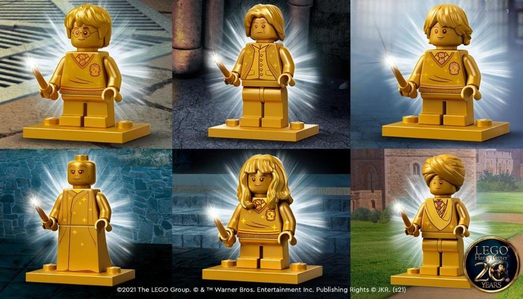 LEGO Harry Potter Golden Minifigures