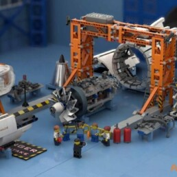 LEGO Ideas Aircraft Engine Workshop