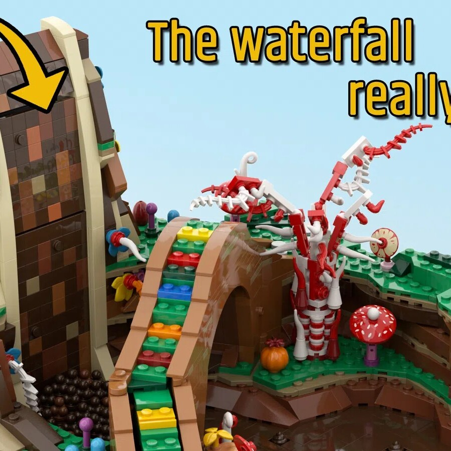 LEGO Ideas Charlie and the Chocolate Factory