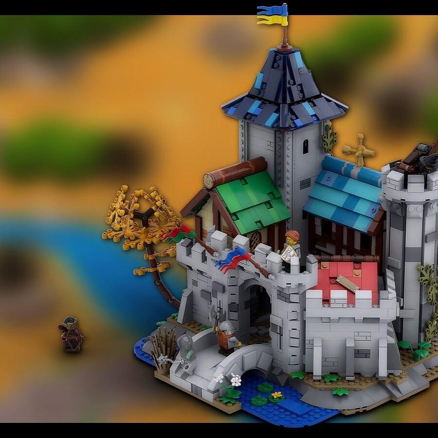 LEGO Ideas Fantasy Castle