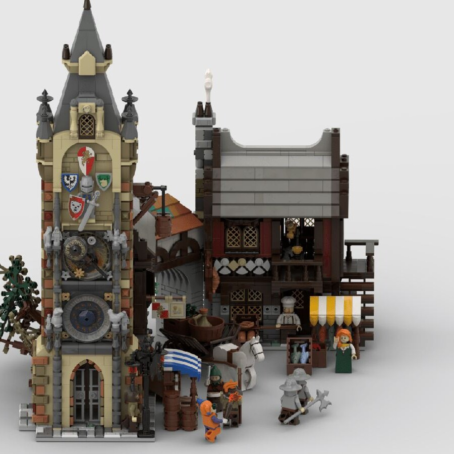 LEGO Ideas Medieval Marketplace (9)