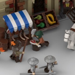 LEGO Ideas Medieval Marketplace (9)