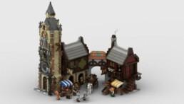 LEGO Ideas Medieval Marketplace