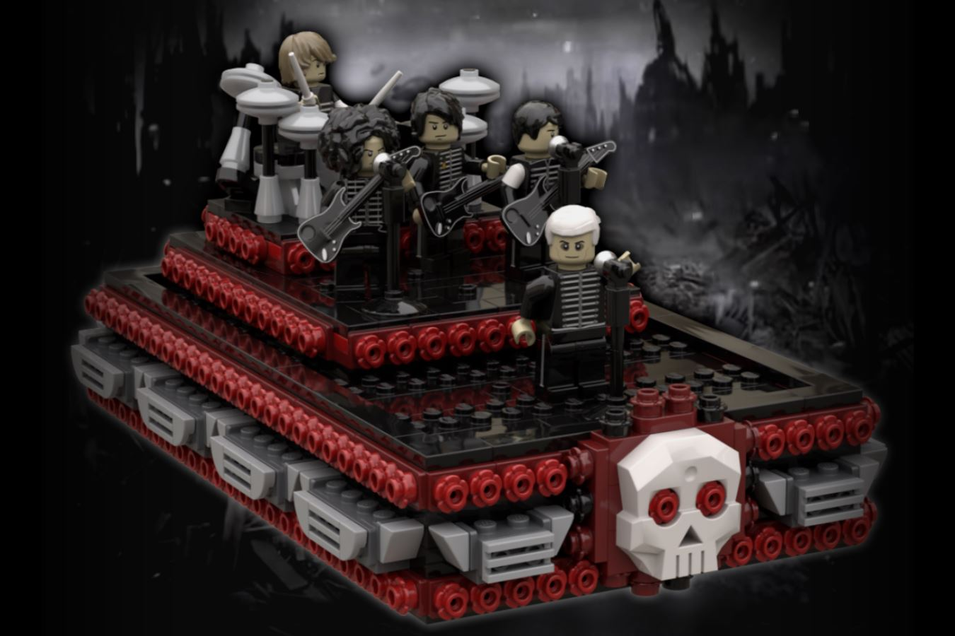 LEGO Ideas Welcome to the Black Parade
