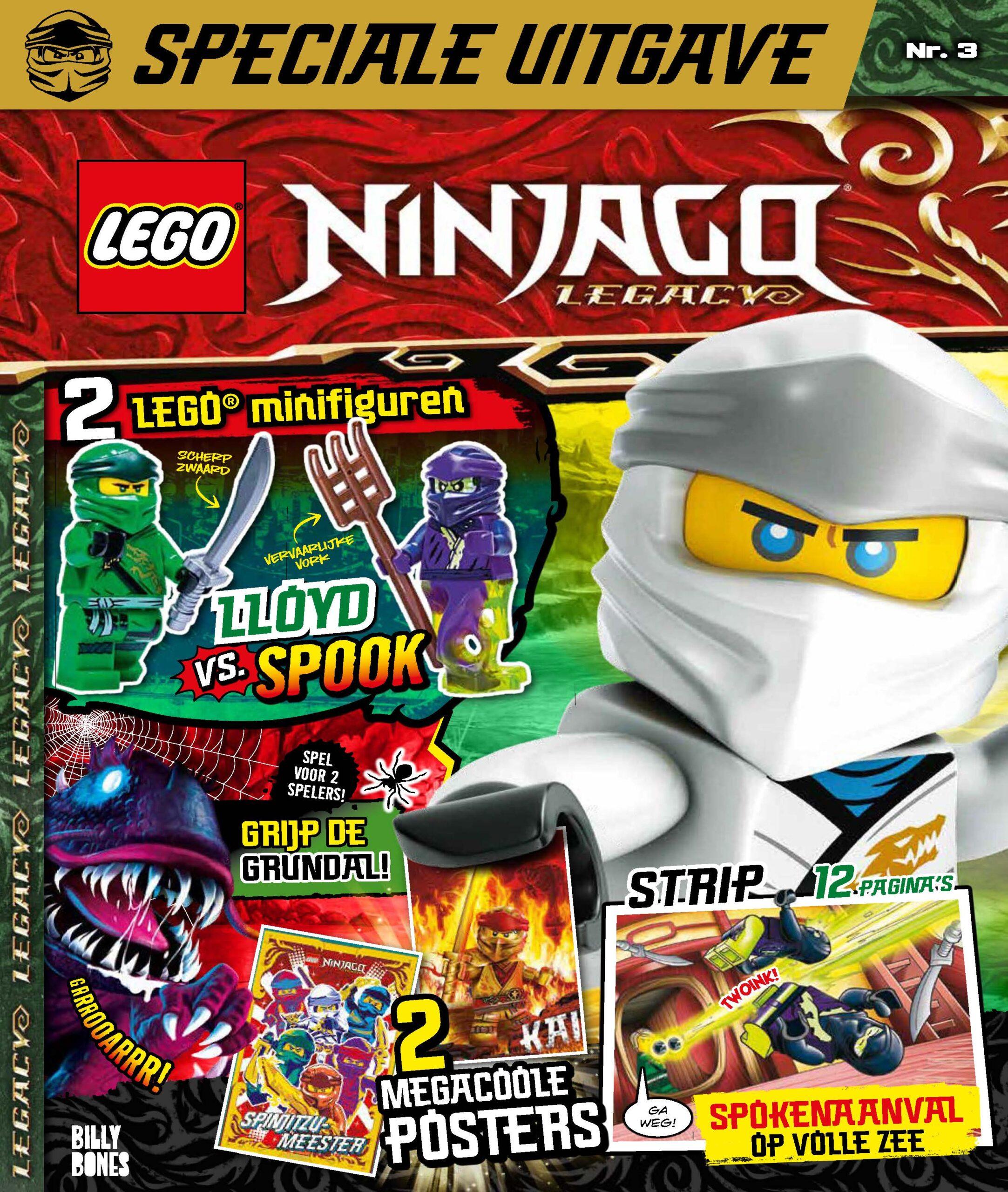 LEGO Ninjago Legacy magazine 03 2021