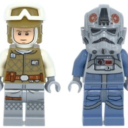 LEGO Star Wars 75298 AT-AT vs Tauntaun Microfighters