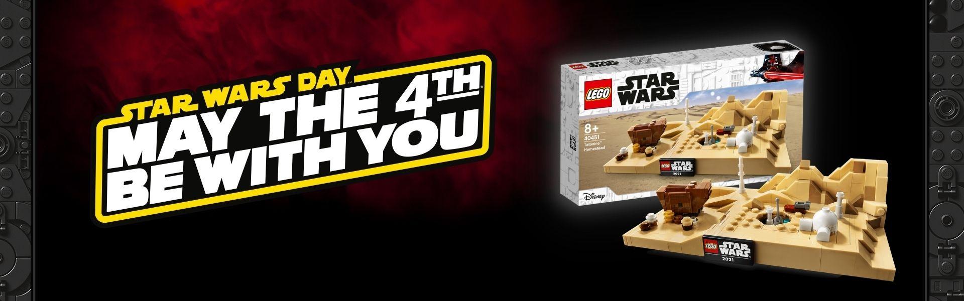 LEGO Star Wars May the 4th Tatooine Homestead