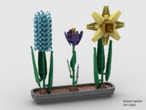 Hyacint Krokus Narcis voorkant (links licht) WK.png