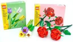 LEGO 40460 Roses & LEGO 40461 Tulips
