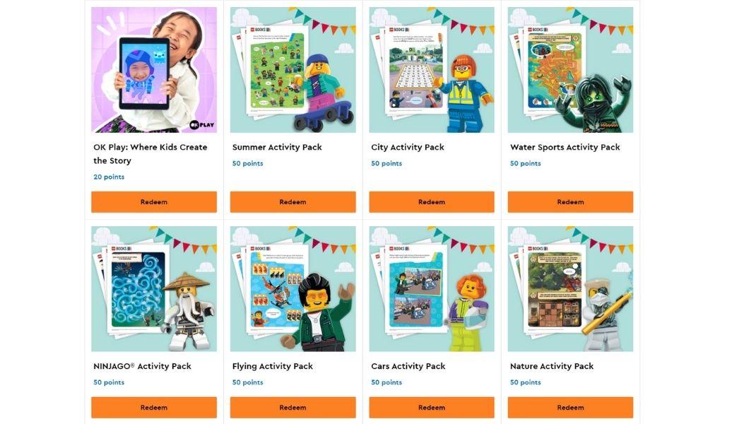 LEGO Activity Packs voor kinderen