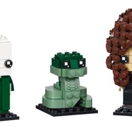 LEGO BrickHeadz 40496 Voldemort, Nagini & Bellatrix