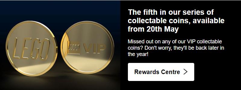 LEGO Golden VIP Coin