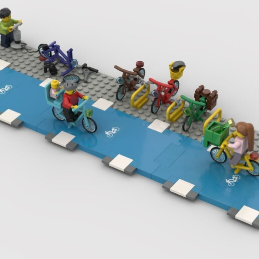 LEGO Ideas Bike Lanes