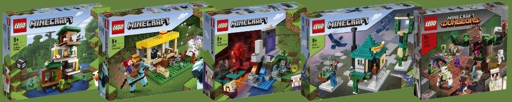 LEGO Minecraft 2HY 2021