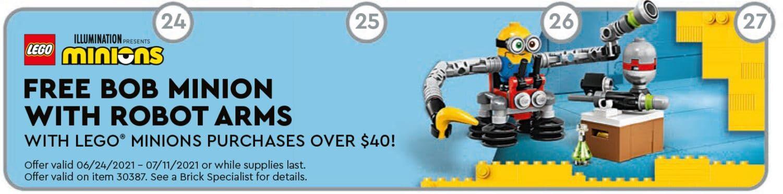 LEGO Minions Polybag Promo