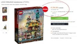 LEGO Ninjago City Gardens voor €254,99