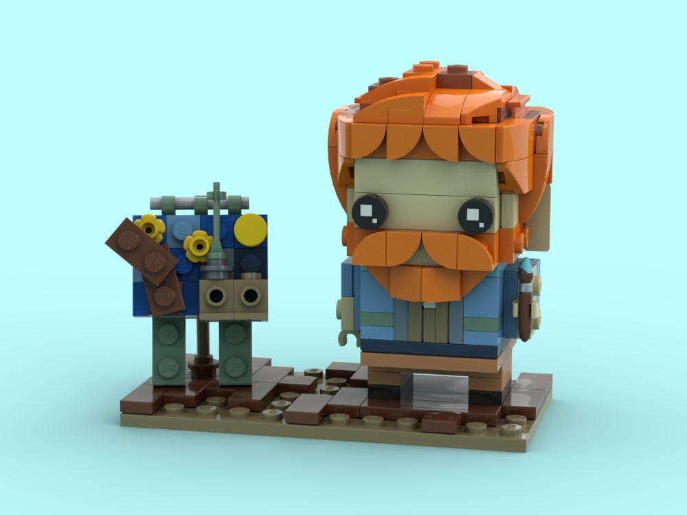 LEGO Vincent van Gogh BrickHeadz