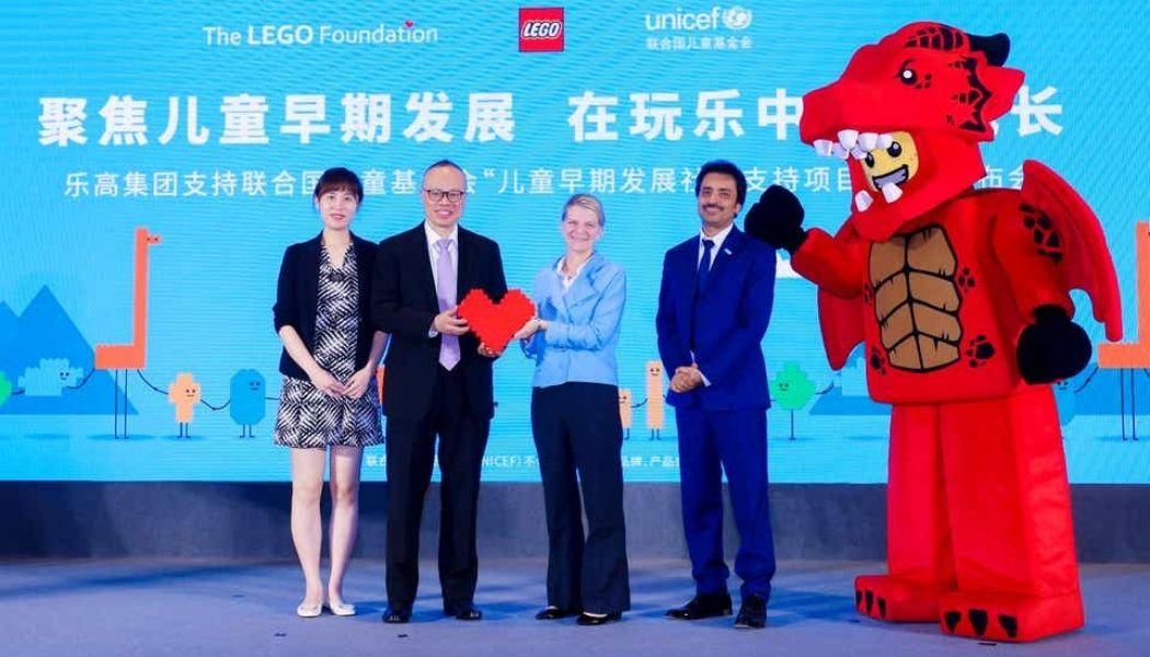 LEGO en UNICEF kondigen samenwerking aan