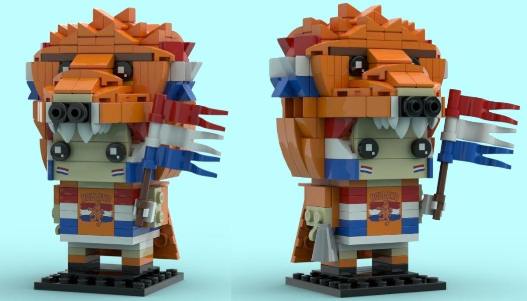 [MOC] LEGO Holland Fan BrickHeadz