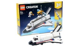 [Review] LEGO 31117 Creator Space Shuttle Adventure
