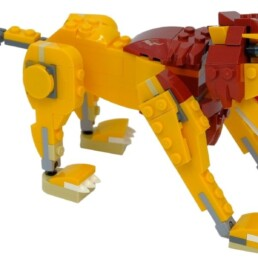 [Review] LEGO Creator 31112 Wild Lion