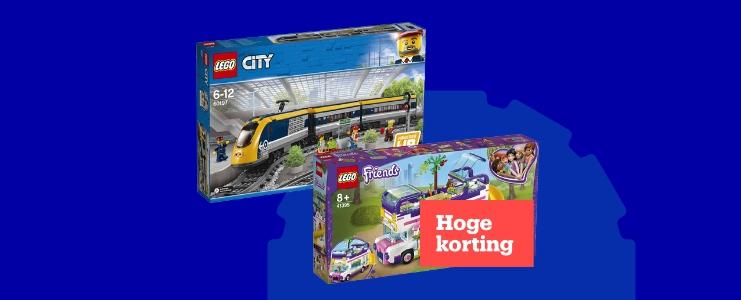 Hoge korting op LEGO tijdens Bol 7-daagse