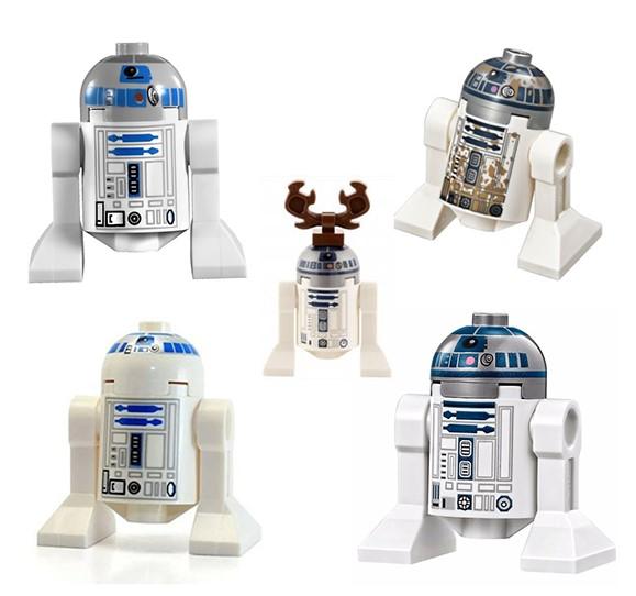 RD-D2 LEGO minifigure