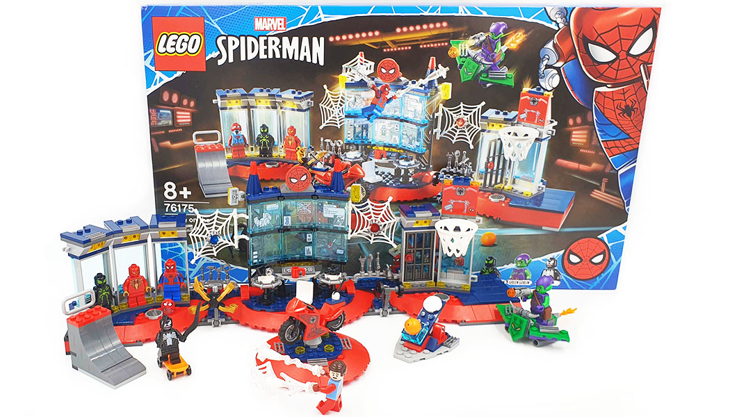 76175 Spiderman Attack on the spider lair