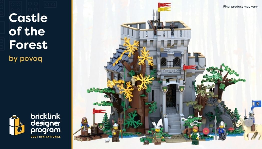 Bricklink Designer Program - Castle of the Forest