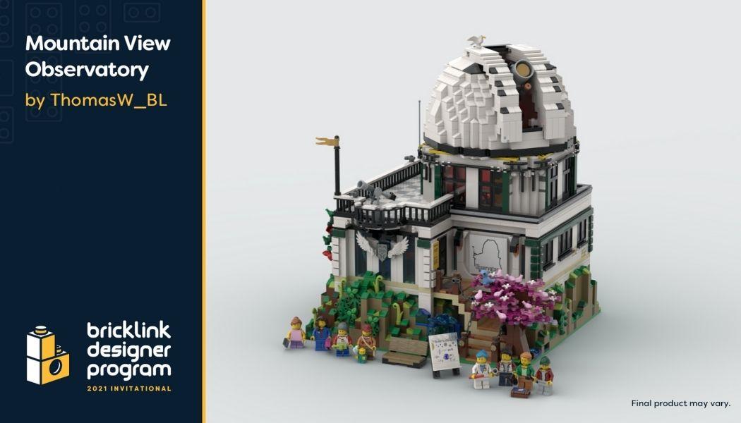 Bricklink Designer Program - Mountain View Observatory