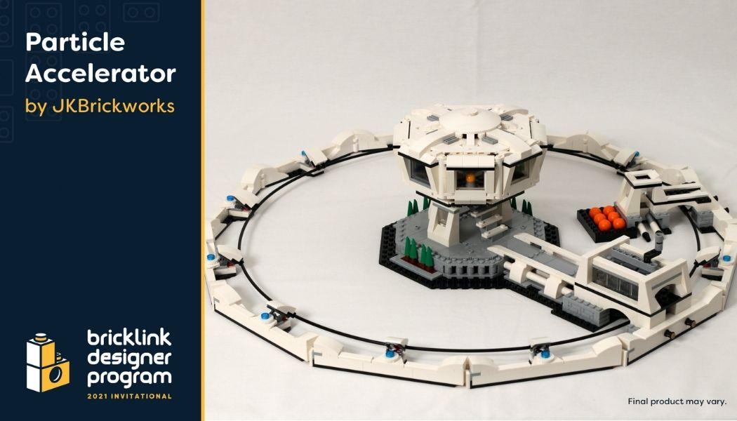 Bricklink Designer Program - Particle Accelerator