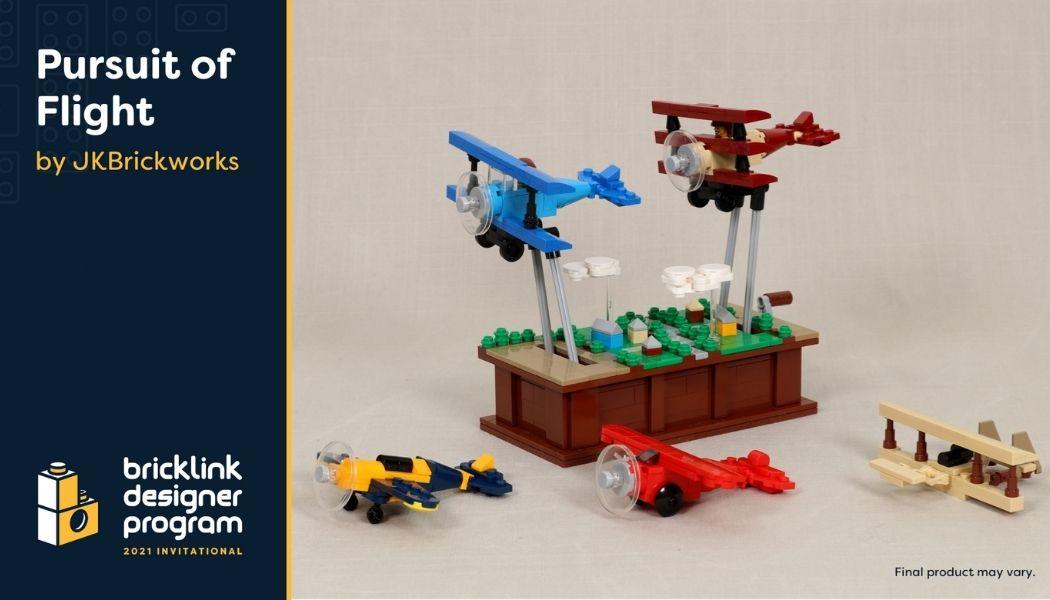 Bricklink Designer Program - Pursuit of Flight
