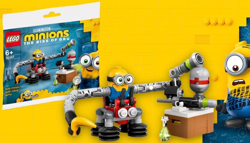 Gratis LEGO 30387 Bob Minion With Robot Arms