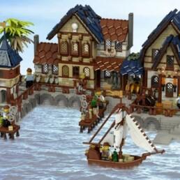 LEGO Ideas Medieval Harbor
