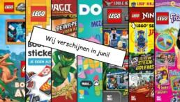 LEGO Magazines en boeken juni 2021