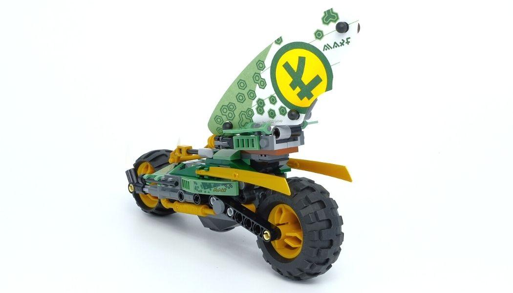 LEGO Ninjago 71745 Lloyd's Jungle Chopper Bike